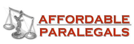 Logo, AFFORDABLE PARALEGALS - Paralegal Services